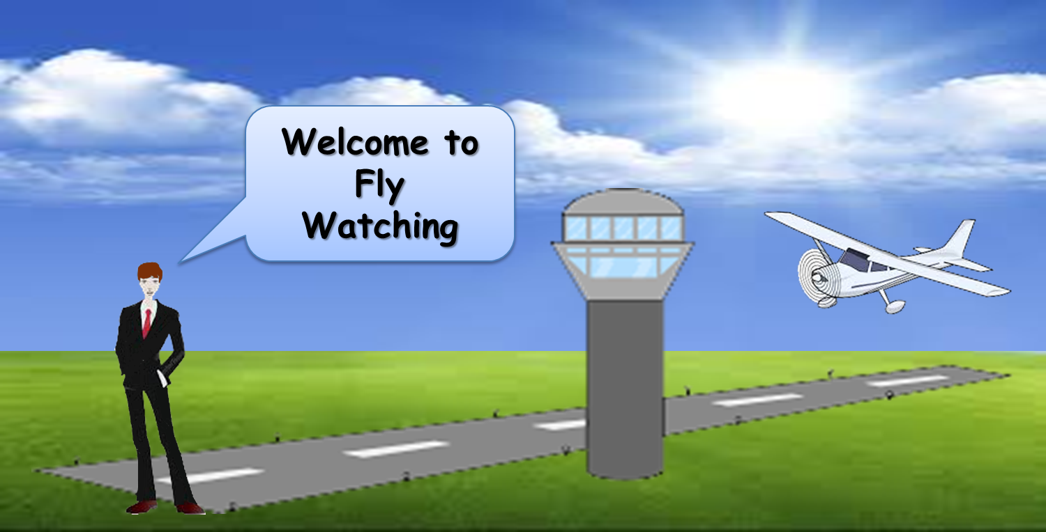 Welcome to FlyWatching, the new flight radar for ultralight aircrafts, drones, and airfields.
