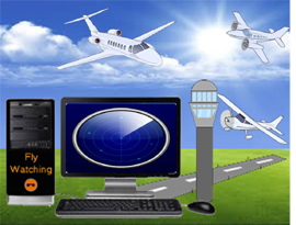 Flight Radar and tracker for PC